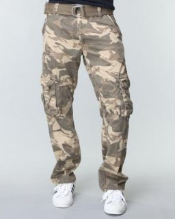 Wrangler Cargo Pants 36x30 Camo Camouflage New with Tags
