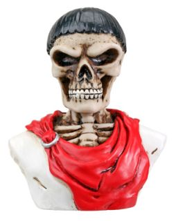 Caesar Skull Dashboard Figurine Bizarre Hot Rat Rod