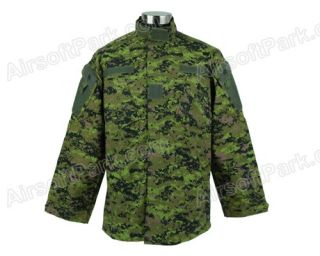 Canada Digi Camo Military Special Force Uniform Shirt & Pants XL