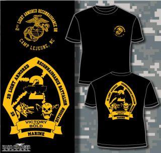 Marine Corps 2nd Lar Battalion Camp Lejeune Shirt