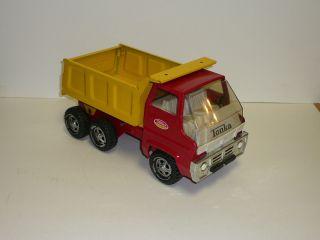 Vtg Tonka Dump Truck Model 13240 Pressed Steel Excellent Cond 1960S