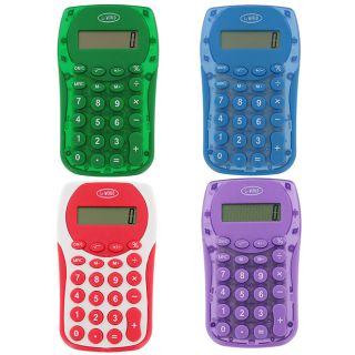 product description 4 leworld full function calculators assorted