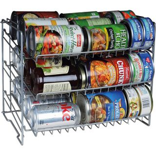 Canned Food Storage Rack Can Soup Kitchen Cabinet Organize Shelf Space