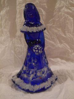 RARE Gift Shop EX Cobalt Blue Canaan Valley Bridesmaid Doll N R