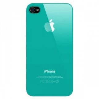 Light Blue Turquoise Crystal Air Jacket Case iPhone 4 4S