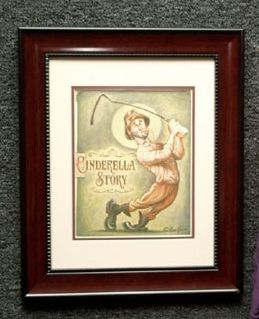 NEW David OKeefe Framed Caddyshack Cinderella Story Print 8 x 10