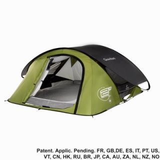 Quechua Tent Camping Pop Up 2 Seconds Air II 2 Man