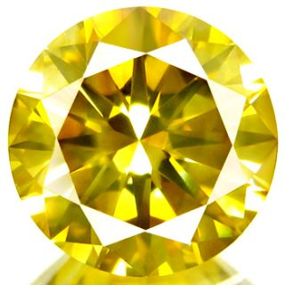 70ct WOW Dazzling Huge Fancy Canary Yellow Diamond Earth Mined