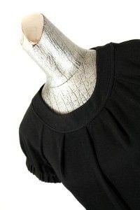 Little Black Dress Calvin Klein A Line Cap Sleeve Mini Stretch Petite