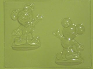 Mickey Mouse 3D Chocolate Candy Soap Mold New Free SHIP