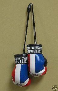 "Dominican Republic Flag ""Mini Boxing Gloves"""