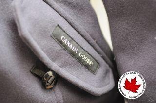 CANADA GOOSE KENSINGTON PARKA MERINO WOOL GRAPHITE   LAST ONE!   100%