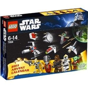 just in time for the holidays star wars advent calendar model 7958