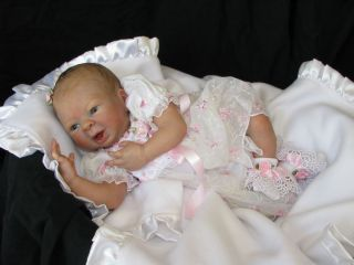 Reborn Vinyl Doll Supply Kit Camryn by Denise Pratt Adorable Smiling
