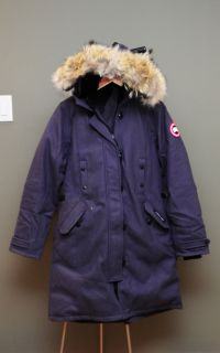 Canada GOOSE Ladies Kensington Parka Merino Wool Limited Edition
