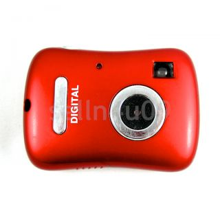 MINI RED DIGITAL CAMERA PERFECT FOR KIDS CHILDREN WORKS GREAT