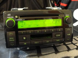 2004 Toyota Camry Factory Cd Cassette Car Stereo Radio 86120 AA040