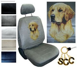 Seat Covers Car Truck SUV Golden Retriever Low Back PP 4