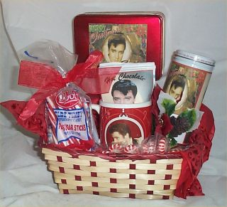 Elvis Christmas Mug Coffee Hot Chocolate Cookies Candy Gifts Holiday
