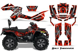 Can Am Outlander Max 500 650 800R Graphics Kit Decals Stickers BTR
