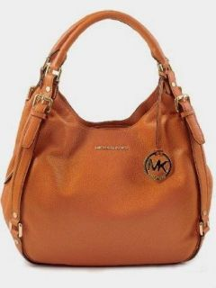 Michael Michael Kors Handbag, Bedford Large Shoulder Tote Luggage