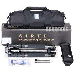 New Sirui T 1205X Carbon Fiber Tripod G 10 Ballhead 6952060000084