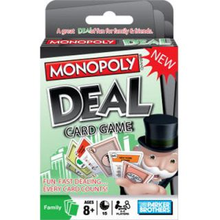 Fun Family Game Monopoly Deal Card Game A Fun Fast Dealing Game