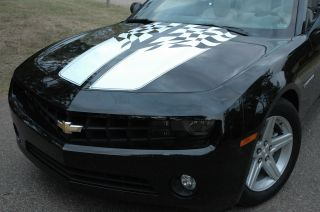 Camaro 35th Anniversary Style Checkered Racing Stripes for 2010 2013