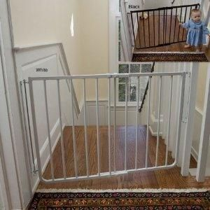 Cardinal Gates Stairway Special Gate Black