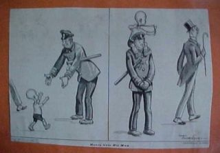 NEWSPAPER COMIC STRIP*MAGS SCRAPBOOK COLLECTION1930S*CARL ANDERSON