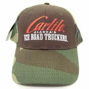 New Alaska Ice Road Truckers Hat Ball Cap Carlile Camo