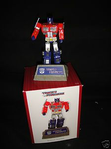 Carlton Cards Transformers Optimus Prime Christmas Ornament New