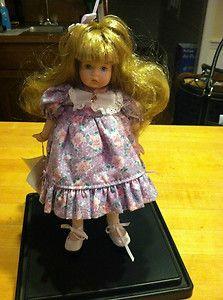 Porcelain Carol Anne Doll Designed by Bette Ball Goebel