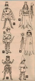 Boys Girls Halloween Costume Princess Flower Elf Gnome Prince Pattern