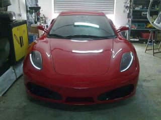 F430 Replica Kit Car Based on The Celica 2000 2006 Painted in Ferrari