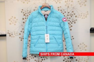 NEW   CANADA GOOSE CAMP DOWN JACKET PARKA COAT ICEBERG BLUE   100%
