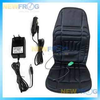 Car Seat Cushion Cover Mat Massager Back Heating Heat