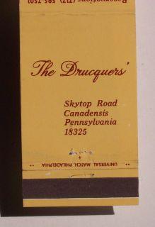 1960s Machbook Pump House Inn Drucquers canadensis PA