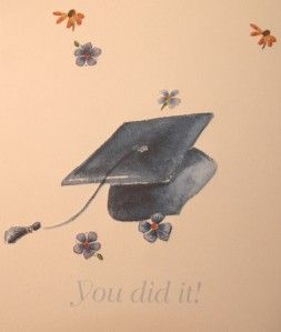 Carol Wilson Graduation Congratulations Greeting Card CG1680