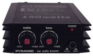 New Pyramid PB70 150 Watt Power Amplifier Booster Car Audio