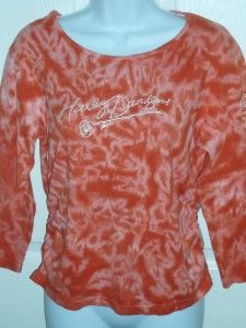 HARLEY DAVIDSON Cape Girardeau MO Rose T Shirt Womens Medium