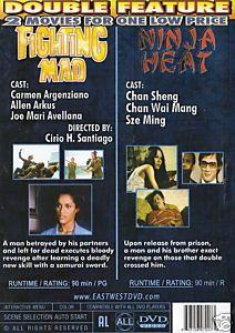 Fighting Mad Carmen Argenziano Ninja Heat Chansheng DVD