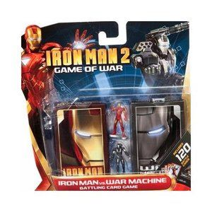 War Card Game Iron Man 2 Game of War 120 Battle Cards Iron Man vs War