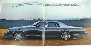 1977 77 Chevrolet Chevy Impala Caprice Classic Brochure