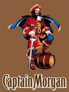 Captain Morgan Cornhole Game Bean Bag Decal Sticker 18 Set Color Free