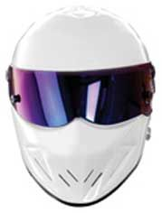 The STIG Party Face Mask Top Gears Race Racing Track Driver BBC White