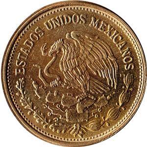 1987 Mexico 100 Pesos Coin Venustiano Carranza KM 493 UNC