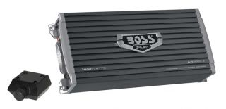 New Boss AR2600 2 1600W 2 Channel Armor Series Car Audio Amplifier Amp