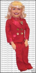 Carol Channing Standard Upgrade Ventriloquist Dummy Doll Puppet Semi