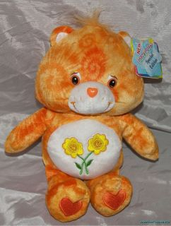 Plush 10 Care Bears Special Edition Series 1 TIE DYE FRIEND BEAR HTF